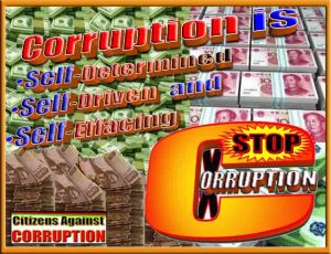 1. Corruption is self driven Citizens Against Corruption copy