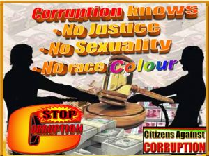 Corruption knows no race
