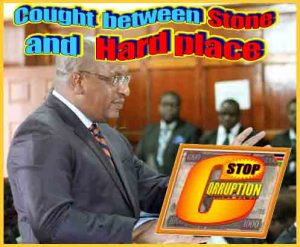 Tobiko - Caught between hard place and stone