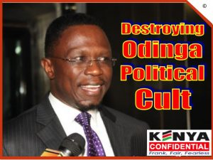 Destroying Odinga Political Cult