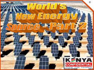 World new energy - part 2-1
