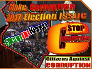 Make corruption 2017 election issue