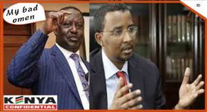 Raila war on Hassan