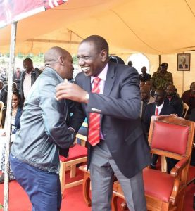 Ruto and Kabogo