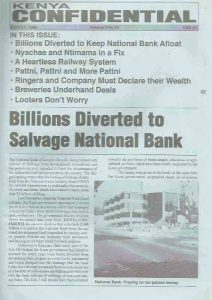 Billions diverted to salvage National Bank