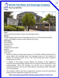 Nairobi Water and Sewerage Company