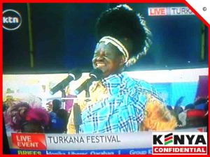 Raila at Turkana festifal copy