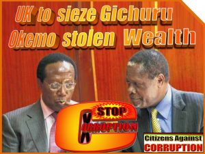 UK to sieze Gichuru stolen wealth