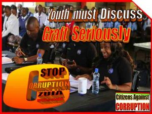 Youth must discuss graft copy