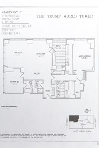 trump appartment map